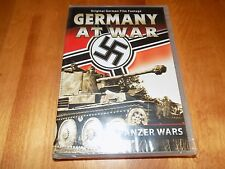 GERMANY AT WAR PANZERS Panzer Armored Warfare Tanks Tank Documentary WWII DVD NW