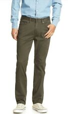 new men's  Sueded Slim-Fit Stretch Jean pants Banana Republic  green 35 / 32