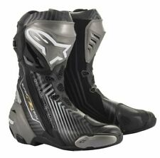 Alpinestars SMX 6 Waterproof Motorcycle BOOTS Black EU 43 UK 9