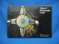 NIKON F PHOTOGRAPHY GUIDE, EARY 70's PRINTING / XLNT