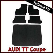 Audi TT Coupe Mk2 2006-2014 Tailored Fitted Carpet Car Floor & Boot Mats Mats