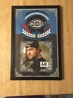 Lee Brice autograph 11x17 In Frame @ Willie Nelson Country Throwdown Dickies