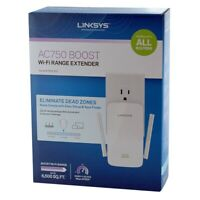 Linksys RE6300 Wi-Fi Range Extender 802.11ac AC750 BOOST Dual Band Spot Finder