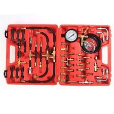 Fuel Injection Diesel Pump Pressure Gauge Tester Gasoline Test Meter Tool 100psi