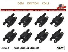 NEW 8x OEM IGNITION COILS FOR GMC W3500 FORWARD 2008 *12619161