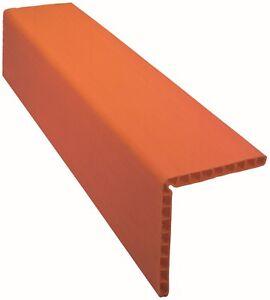 Kantenschutzwinkel aus Polyeten 190 x 190 mm, Länge: 6 m