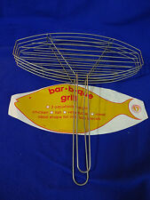 BAR-B-QUE GRILL FOR CHICKEN, FISH OR VEGGIES