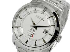 Seiko Men's Kinetic 100m GMT Watch SUN029P1 Warranty, Box