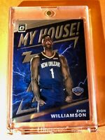 Zion Williamson DONRUSS OPTIC HOT ROOKIE 2019-20 MY HOUSE! RC #15 - Mint!