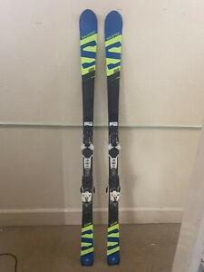 Salomon Xrace GS 175 cm Ski + Salomon X12 Bindings Snow Sport Winter Outdoor
