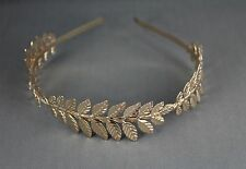 shiny Laurel Leaf crown Leaves headband hair band greek toga roman costume