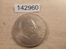 1965 Great Britain Churchill Crown - Very Nice Collector Album Coin - # 142960
