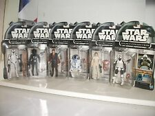 star wars LEGACY FULL SET CANCELLED LINE 6 BUILD A DROID FIGURES RARE Inc R2-D2