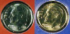 2016 P D Roosevelt Dime Set 1 P & 1 D Brilliant Uncirculated Mint Set Coin's