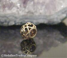 Authentic Pandora 14k Yellow Gold  Opean Heart with White Diamond Charm
