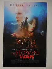 THE FLOWERS OF WAR - Movie Poster - Flyer - 13.25x19.75 - CHRISTIAN BALE