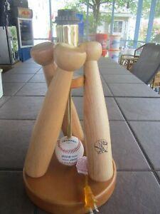 CHAMPRO - Baseball Themed Table Lamp  Triple Base Bat Lamp with Pro Team Ball