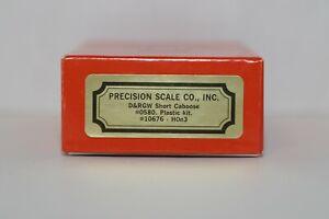 Precision Scale, HOn3 D&RGW Short Caboose #10676