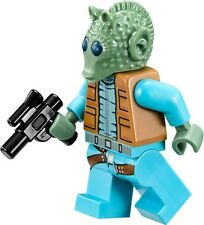 NEW LEGO STAR WARS GREEDO MINIFIG figure minifigure 75052 mos eisley cantina toy