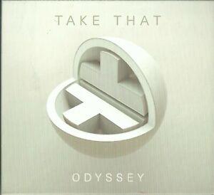 TAKE THAT - ODYSSEY (RE-IMAGINED) 2018 EU CD GARY BARLOW MARK OWEN HOWARD DONALD