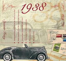 79th Birthday Gifts - 1938 Classic Retro Pop CD Greetings Card - CD Card Company