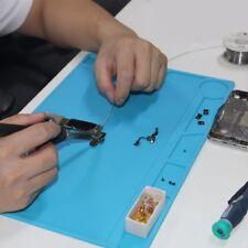 Rectangular Nonslip Heat Resistant Silicone Table Workbench Soldering Repair Mat