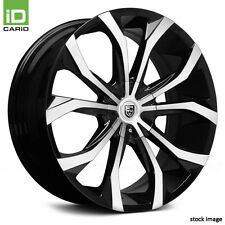 18x8 LEXANI Wheel +40 | 5x112 | 73.1 LUST Rim Black w Machined Face