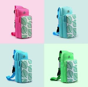Travel Shoulder Pouch Carrying Bag For Animal Crossing Switch/ Switch Lite