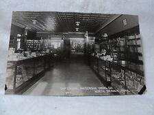 NORTH BRANCH MN Minnesota Anderson Drug Co. Interior Cigars Pens RPPC postcard