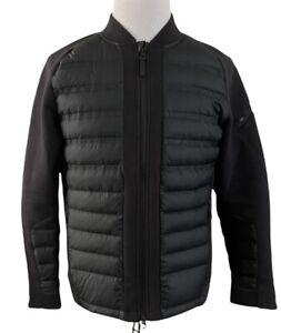 Men's NIKE Sportswear Tech Fleece AeroLoft Bomber Full Zip Down Jacket Medium