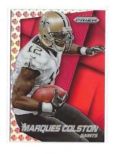 2014 Panini Prizm Prizms NFL Shield #196 Marques Colston Saints /75
