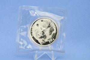 China 10 Yuan 2005 Panda  1 oz  Silber *St/Bu * gekapselt  in Folie