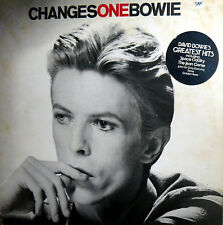 DAVID BOWIE CHANGES ONE BOWIE   LP  MADE IN ENGLAND