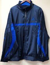 a1fa90c3ae45f2 Mens Air Jordan 5 AJ5 Satin Full Zip Jacket AR3130-451 Black Blue NEW
