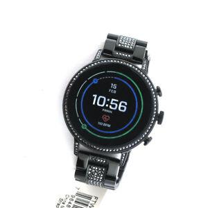 Fossil Gen 4 Venture FTW6023 HR GPS Bluetooth Smartwatch SS link Band Watch