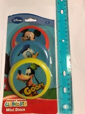 3 Disney Mickey Mouse Club House Mini Disc NIP DS2 $Price Drop