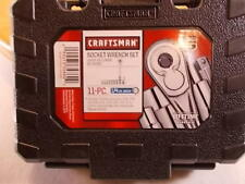 """New Craftsman 11pc 6pt 1/4"""" Drive SAE (inch) Socket Wrench Set #34860 With Case"""
