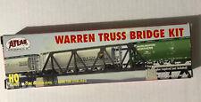 Atlas (HO-Scale) #883 Code 100 Warren Truss Bridge Kit