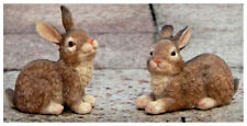 Cute pair of Bunnies - home or garden decoration