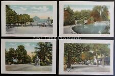 Gloucestershire CHELTENHAM Collect of 4 Postcards c1903 by Valentine