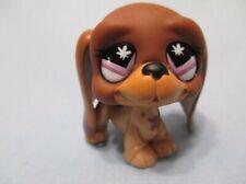 Littlest Pet Shop Dog Basset Hound 665 Butterfly Eyes Authentic Lps