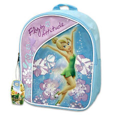 "Backpack 11"" Disney Tinkerbell Fairy Fly By Attitude New"