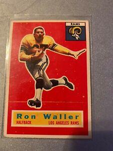 1956 TOPPS #12 RON WALLER RAMS VG+ D024427