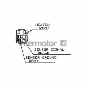 For Toyota Corolla E12U 1.4 VVT-i Genuine Intermotor Lambda Sensor