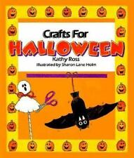 Crafts For Halloween (Holiday Crafts for Kids)-ExLibrary