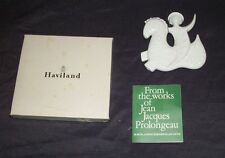 HAVILAND LIMOGES NOEL ORNAMENT JEAN JACQUES PROLONGEAU ORIG BOX PAPERWORK 1972