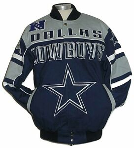 Dallas Cowboys NFL Blitz  Cotton Twill Jacket  Size  4XL