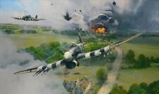 ROBERT TAYLOR Closing the Gap 247 Squadron Typhoons Falaise 10 Signatures LOOK!