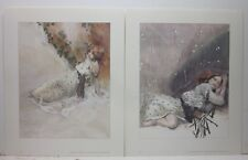 As A Child - Jeffrey Jones Two Color Prints