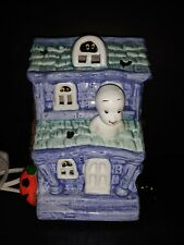 Vintage Casper the Friendly Ghost Halloween Ceramic Lighted Haunted House 1987